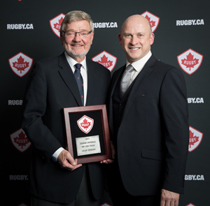 SportLoMo sponsor Rugby Canada Match Official of the Year Award