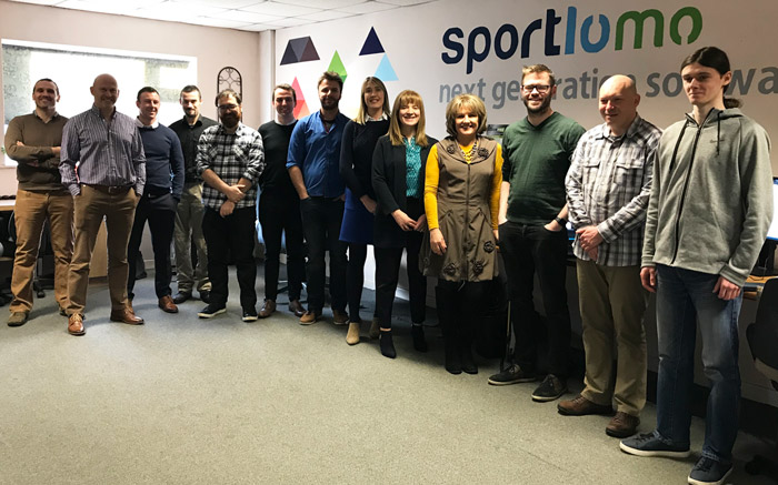 SportLoMo Team in Feb 2020